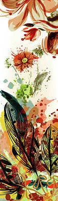 Whimsical Splash Of Sunshine Art Print by Georgiana Romanovna