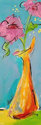 Painting - Whimsical Vase by Terri Einer