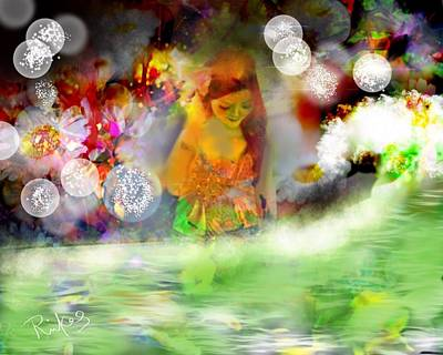 Digital Art - Whimsical Waters by Diana Riukas