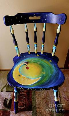 Painting - Whimsy Chair by Susan Herber