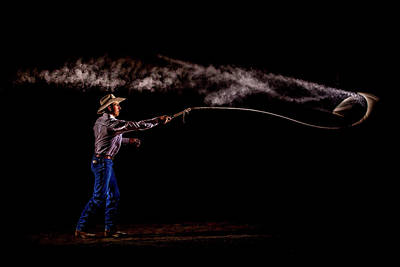Photograph - Whip Cracker by Fast Horse Photography