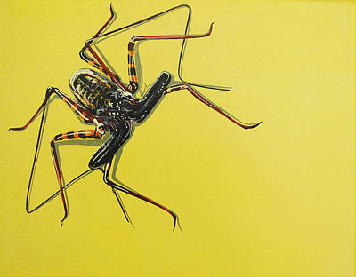 Painting - Whip Scorpion by Jude Labuszewski