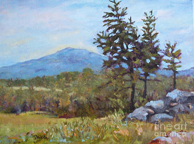 Mt. Monadnock Painting - Whippoorwill's Call by Alicia Drakiotes