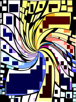 Whirl 1 Print by Chris Butler