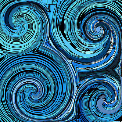 Whirl 3 Print by Chris Butler
