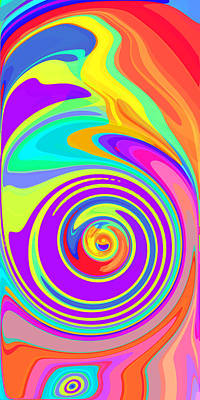 Whirl 5 Print by Chris Butler