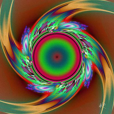 Digital Art - Whirl by Kiki Art