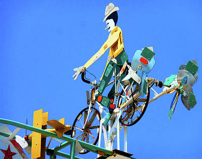 Photograph - Whirligigs 1 by Ron Kandt