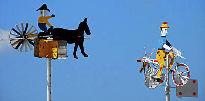 Photograph - Whirligigs 10 by Ron Kandt
