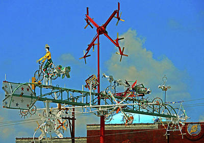 Photograph - Whirligigs 11 by Ron Kandt