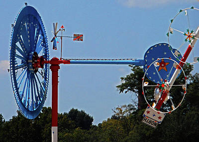 Photograph - Whirligigs 3 by Ron Kandt