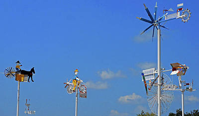 Photograph - Whirligigs 5 by Ron Kandt