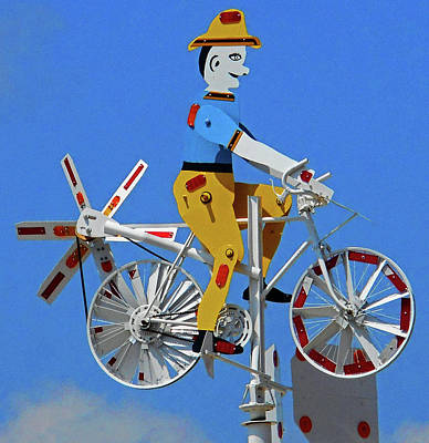 Photograph - Whirligigs 7 by Ron Kandt