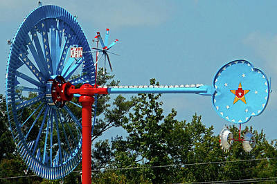 Photograph - Whirligigs 9 by Ron Kandt