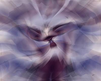 Digital Art - Whirling Dervish In Color by rd Erickson