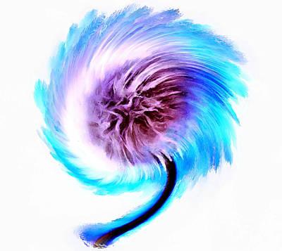 Floral Digital Art Digital Art - Whirlwind Wishes by Krissy Katsimbras