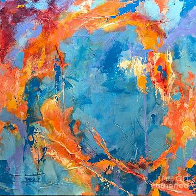 Painting - Whirlwinds Dancing by Mary Mirabal