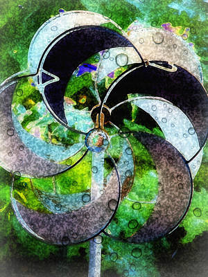 Whirly Photograph - Whirly Whirl by Lisa S Baker