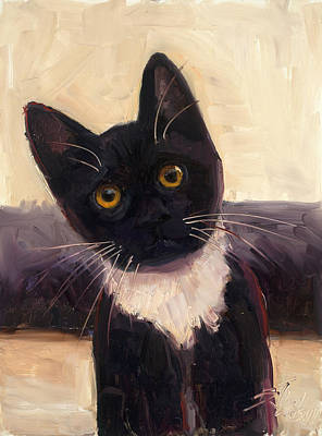 Whiskers  Print by Billie Colson