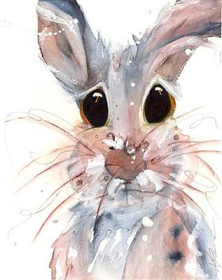 Painting - Whiskers by Dawn Derman