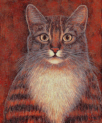 Painting - Whiskers by Natalie Holland