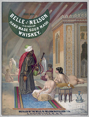 Painting - Whiskey Ad by Granger