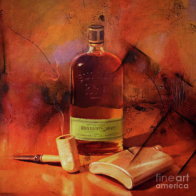 Painting - Whiskey Art  by Gull G