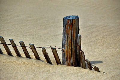 Photograph - Whiskey Beach Post by Bill Swartwout Fine Art Photography