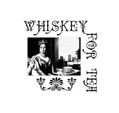 Digital Art - Whiskey For Tea by Susan Vineyard