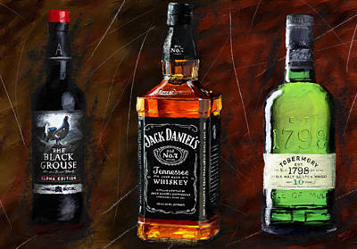 Digital Art - Whiskey Galore by James Shepherd