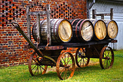 Whiskey Run Art Print by John Dauer