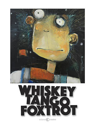 Painting - Whiskey Tango Foxtrot Poster by Tim Nyberg