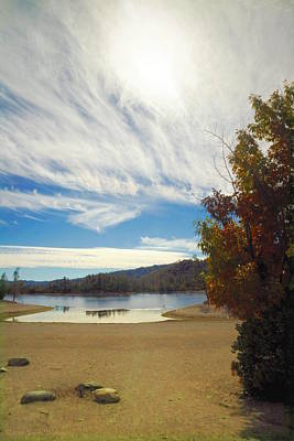 Photograph - Whiskeytown Lake Skyscape by Joyce Dickens