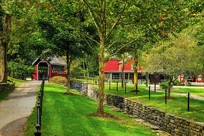 Photograph - Whisky Creek At Maker's Mark  -  Makersmk034 by Frank J Benz