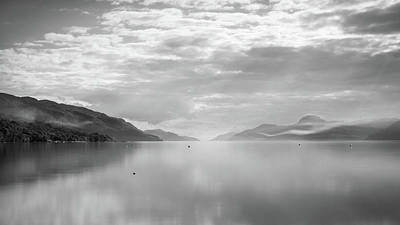 Loch Ness Photograph - Whisp by Chris Dale