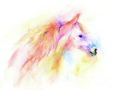 Art Print featuring the painting Whisper by Elizabeth Lock