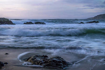 Point Reyes National Seashore Photograph - Whispered  by Marnie Patchett