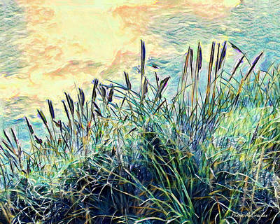 Digital Art - Whispering Grass by Pennie McCracken