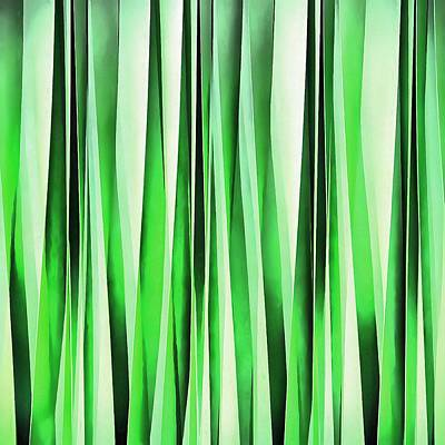 Digital Art - Whispering Green Grass by Tracey Harrington-Simpson