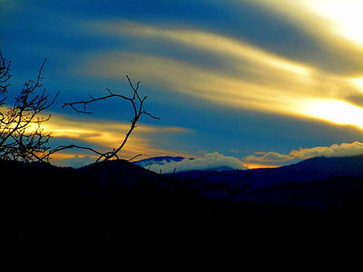 Photograph - Whispering Sunset by Marie Neder