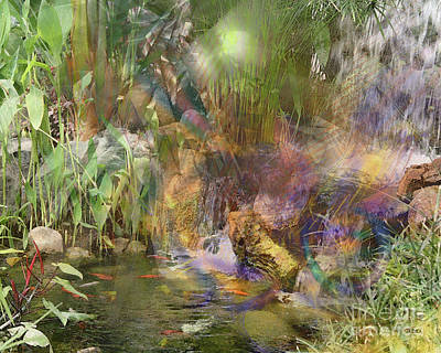 Digital Art - Whispering Waters by John Beck