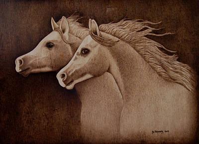 Whispers Art Print by Jo Schwartz