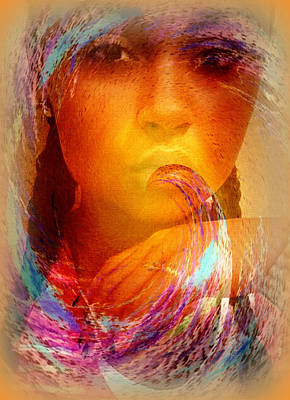 Photograph - Whispers Of The Spirit by Jodie Marie Anne Richardson Traugott          aka jm-ART