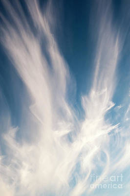 Photograph - Cirrus Clouds by Jim Corwin
