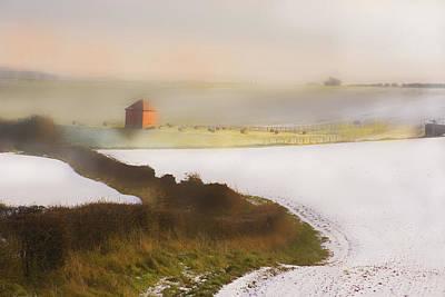 Whispy Winter Landscape Art Print by Aleck Rich Seddon