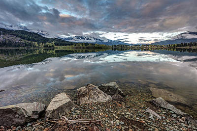Photograph - Whistler Blackcomb From The Shores Of Green Lake by Pierre Leclerc Photography