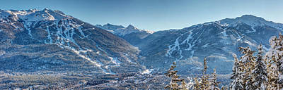 Sports Royalty-Free and Rights-Managed Images - Whistler Blackcomb Ski Resort by Pierre Leclerc Photography