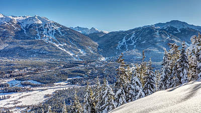 Photograph - Whistler Blackcomb Winter Wonderland by Pierre Leclerc Photography