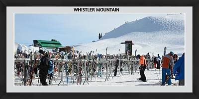 Photograph - Whistler Mountain by Fraida Gutovich