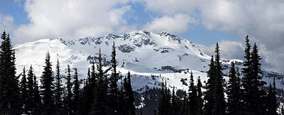 Whistler Mountain Peak View From Blackcomb Art Print by Pierre Leclerc Photography